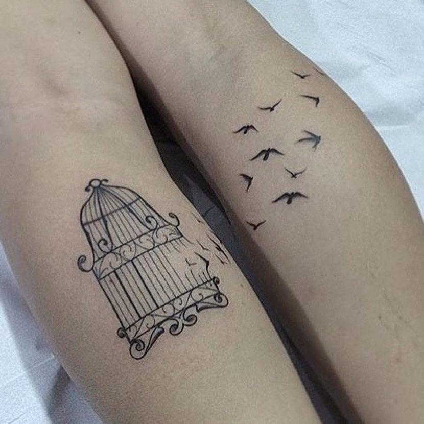 Tatuajes De Jaulas Para Volar Lejos