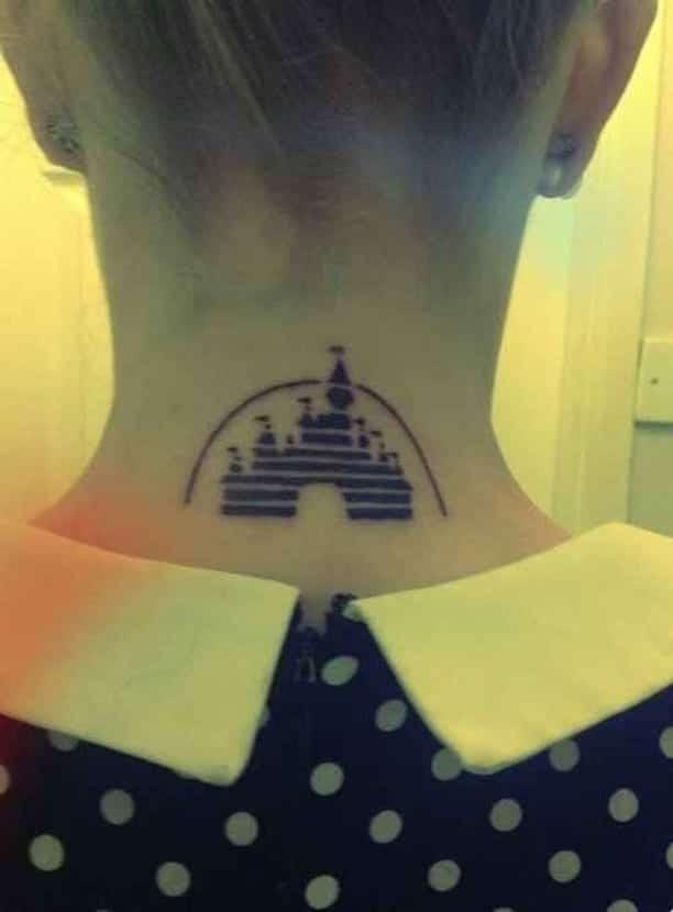 Tatuaje Disney