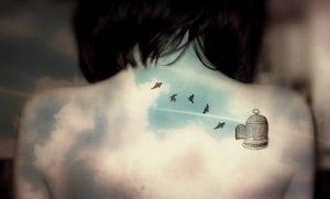 Tatuajes de jaulas con aves