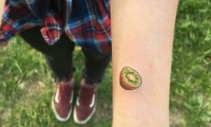 Tatuajes de kiwis