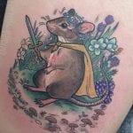 Tatuajes de ratas