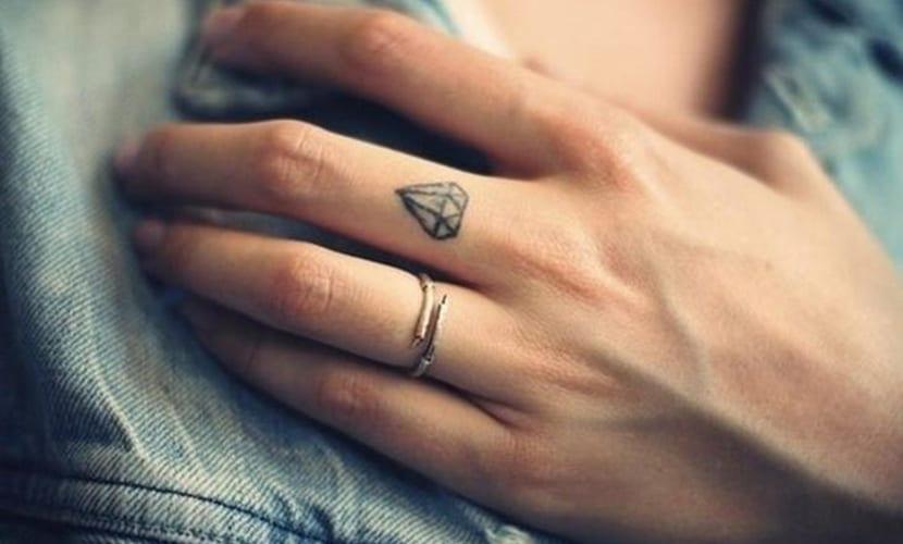 Tatuajes Delicados Diseños Para Los Dedos De Las Manos