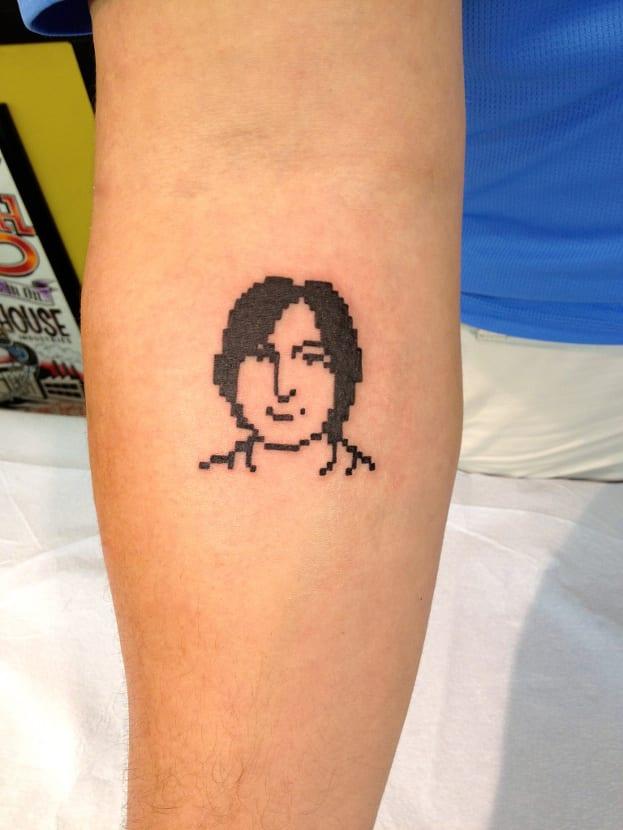 Tatuaje Steve Jobs
