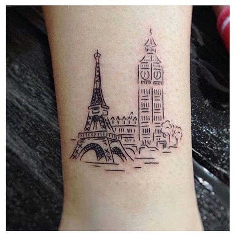Tatuaje París Londres
