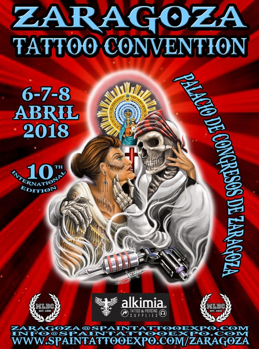 Zaragoza Tattoo Convention 2018 - cartel