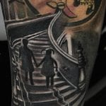 Tatuajes de escaleras