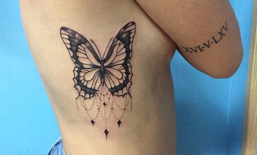 Tatuajes De Mariposas Recopilacion De Disenos E Ideas - Mariposas-tatuaje