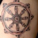 Tatuajes de timones