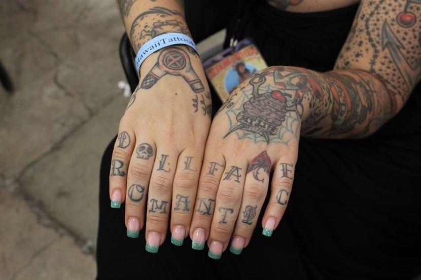 Tatuajes En Los Dedos Se Pueden Llegar A Borrar