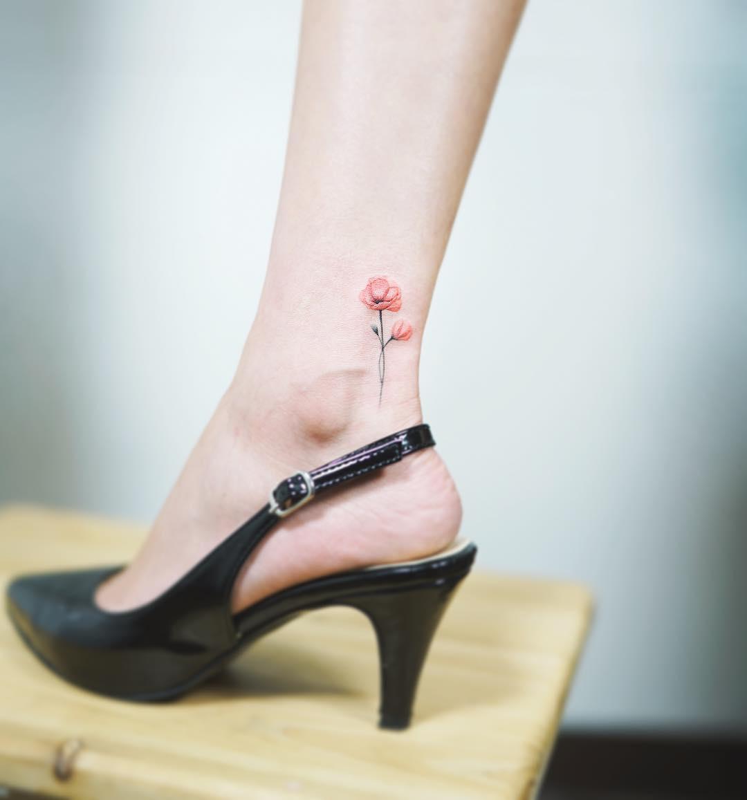 Tatuajes En Los Tobillos Para Mujeres Recopilación De Diseños