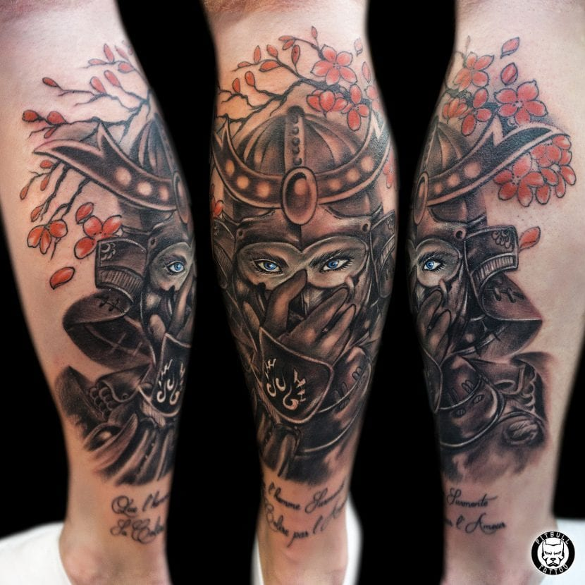 tatuaje japonés samurai