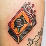 Tatuajes de cerillas
