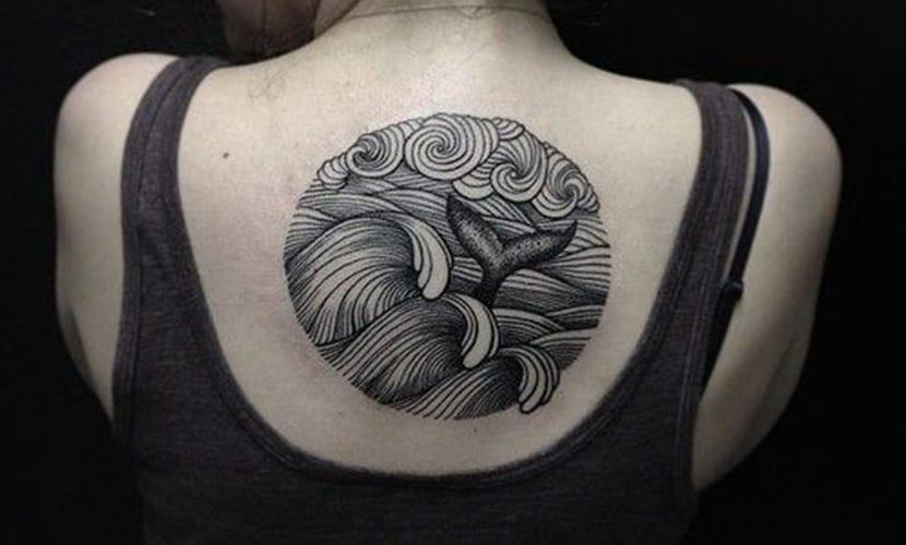 Tatuajes De Colas De Ballenas Significado Y Diseños