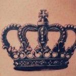 Tatuajes de coronas de rey