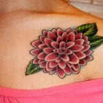 Tatuajes de dalias