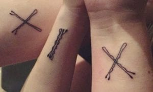 Tatuajes de horquillas