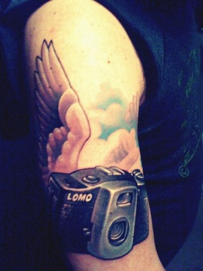 Tatuaje fotografía brazo