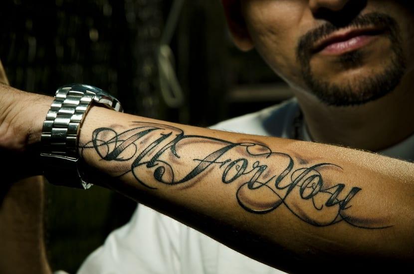 Tatuaje frase corta