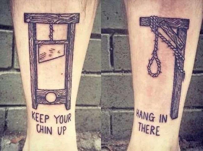 Tatuajes mensajes juegos palabras