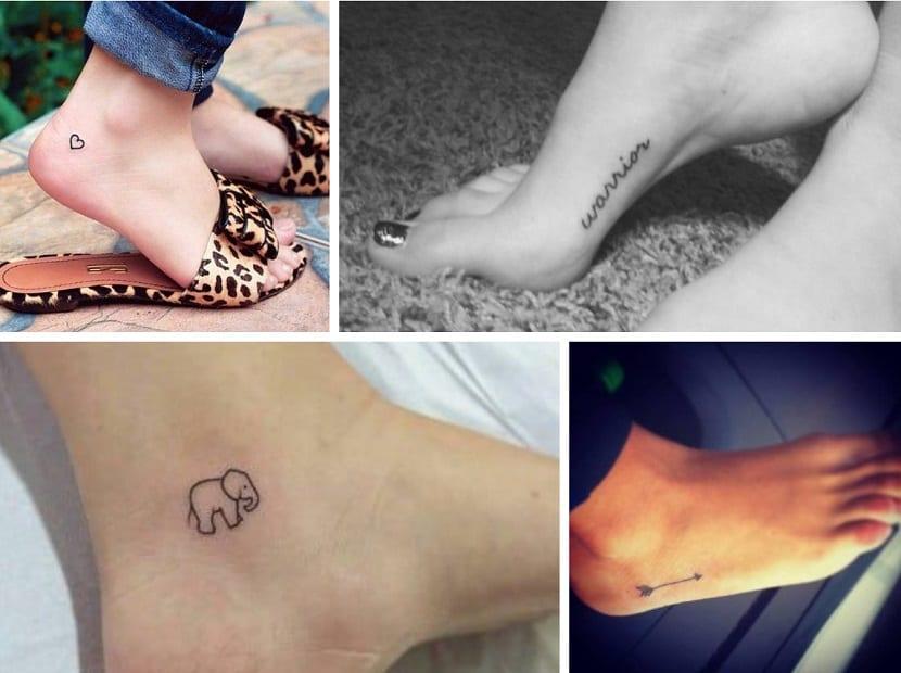 Ideas de tatuajes para pies