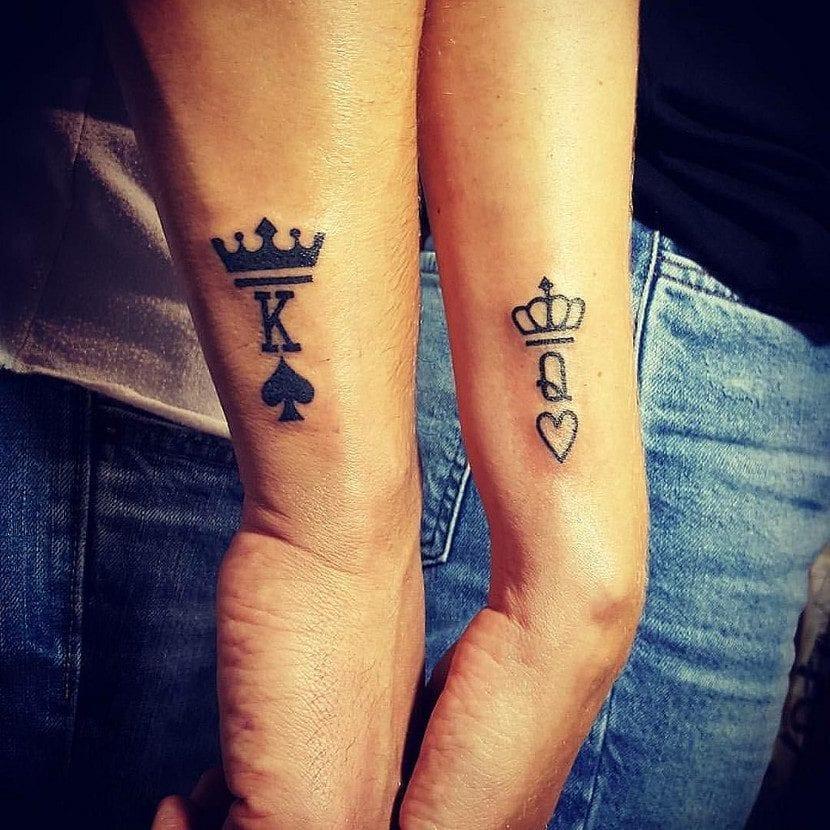 Tatuajes De Corona Para Los Reyes Y Reinas Del Cotarro - Tatuaje-parejas