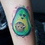 Tatuajes de aguacates