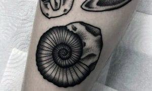 Tatuajes de fósiles
