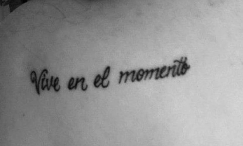 Tatuajes de frases motivacionales