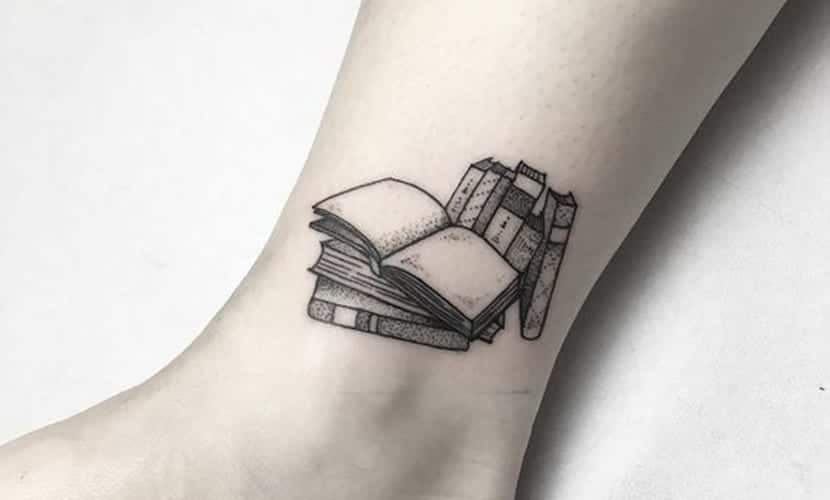 Tatuajes De Libros Recopilación De Diseños E Ideas