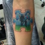 Tatuajes de piezas de puzles