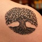 Tatuajes de robles