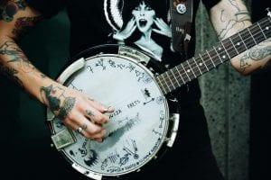 Tatuajes guitarra