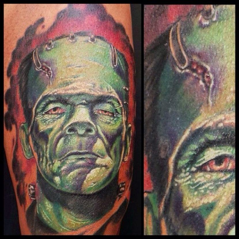 Tatuaje monstruos Frankenstein