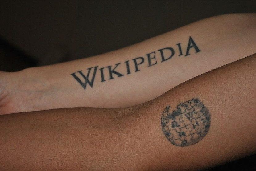 Tatuajes Wikipedia piernas