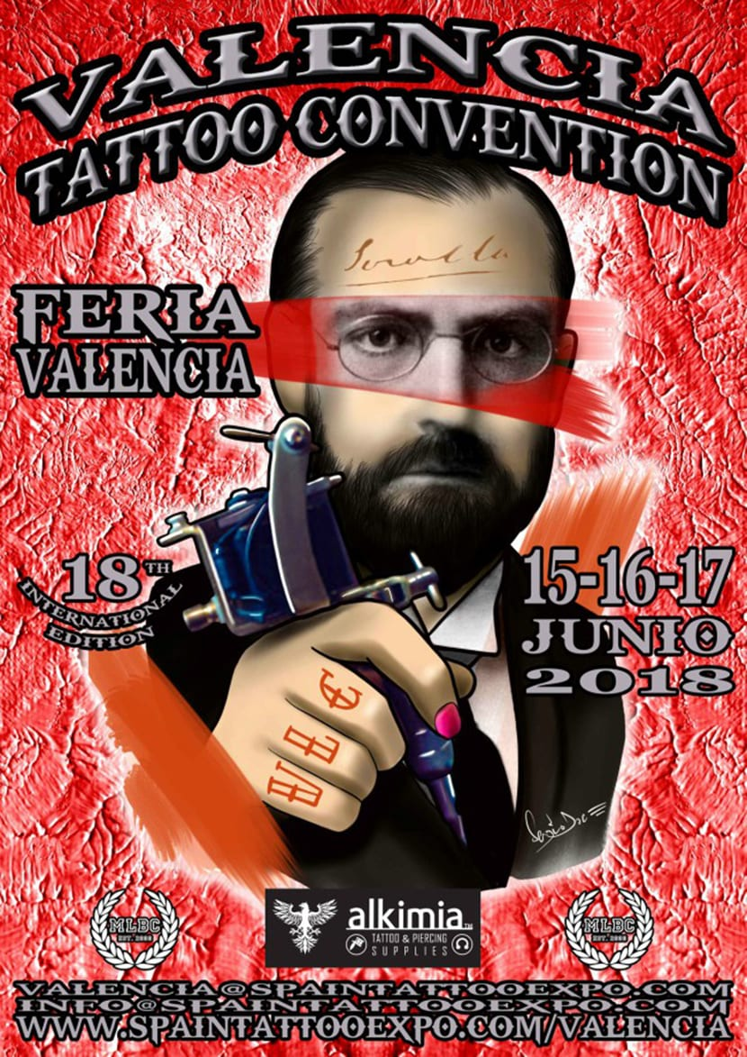 Valencia Tattoo Convention 2018 - cartel