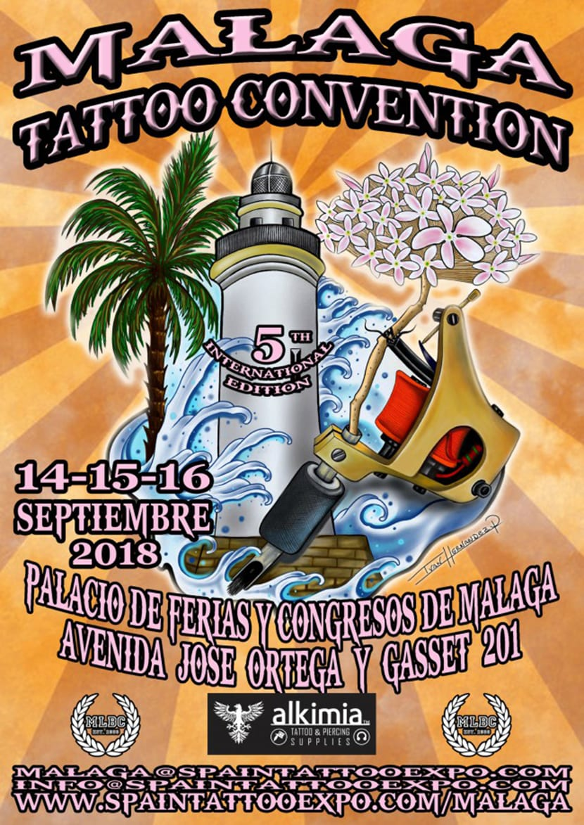 Málaga Tattoo Convention 2018 - cartel