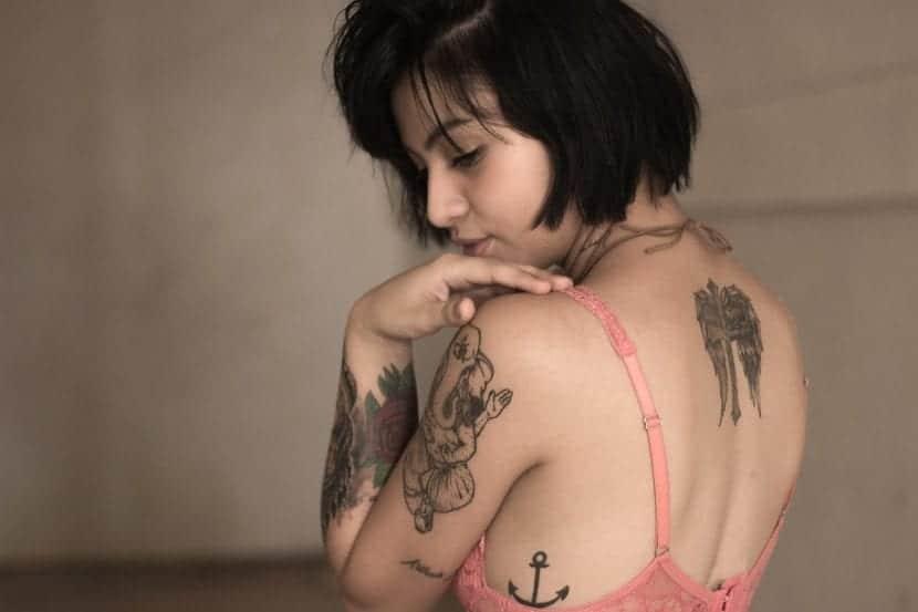 Tatuaje curado espalda