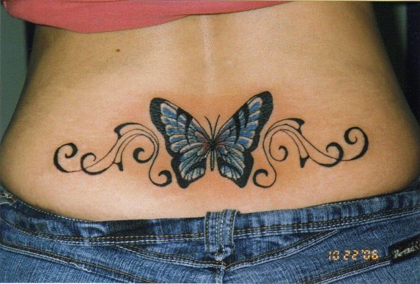 Tatuajes en la zona baja de la espalda