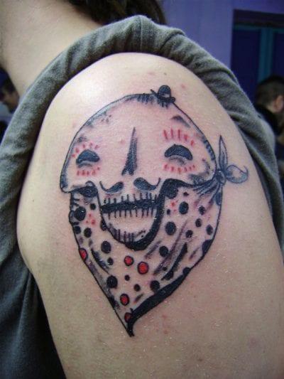 Tatuaje calavera mexicana diferente