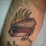 Tatuajes de ataúdes