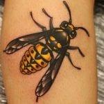 Tatuajes de avispas