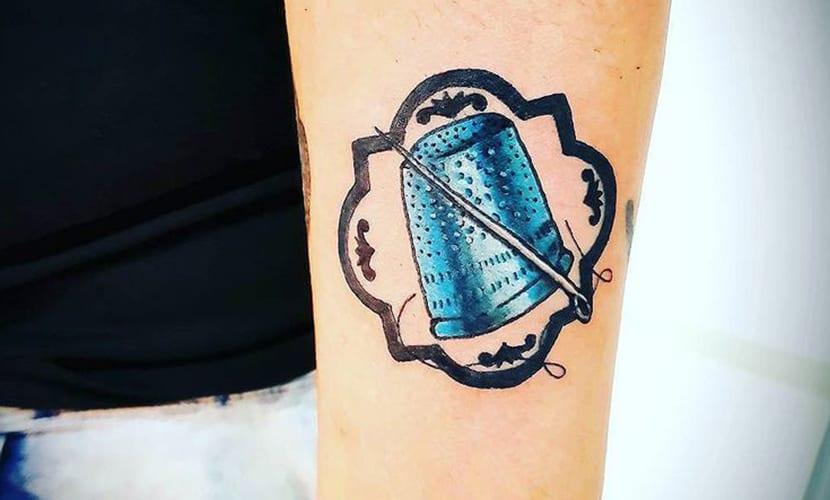 Tatuajes de dedales