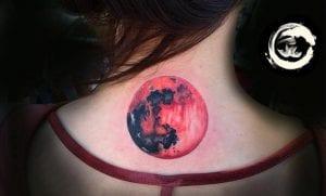 Tatuajes de luna de sangre