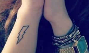 Tatuajes de rayos