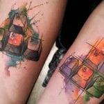 Tatuajes de teclas de ordenador