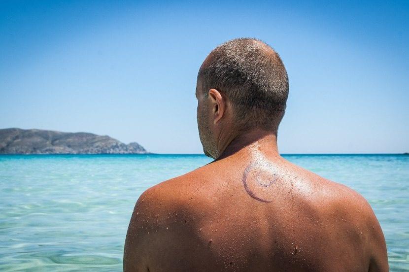 Tatuajes en verano playa