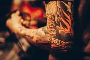 Tatuaje manga
