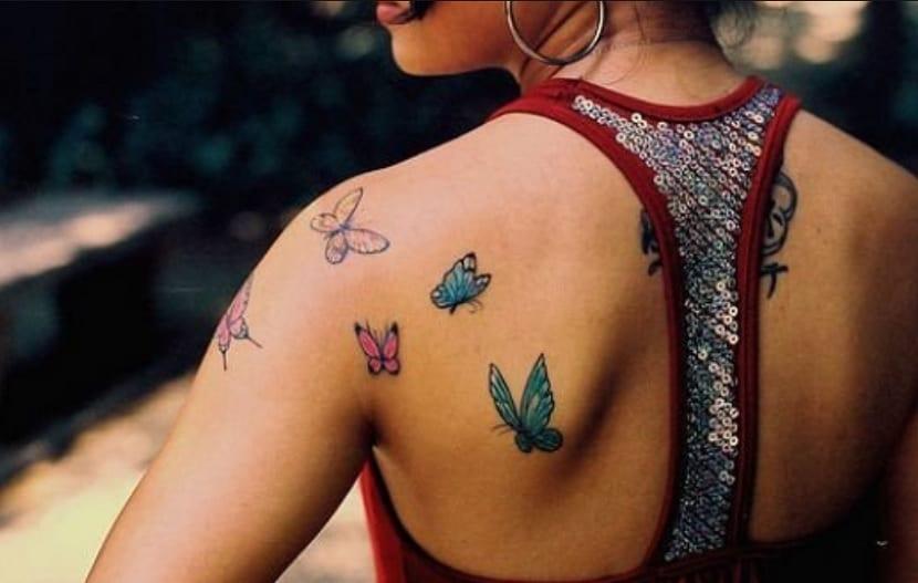 Significado de los tatuajes de mariposa
