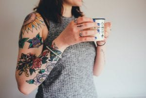 Tatuajes sin dolor brazo