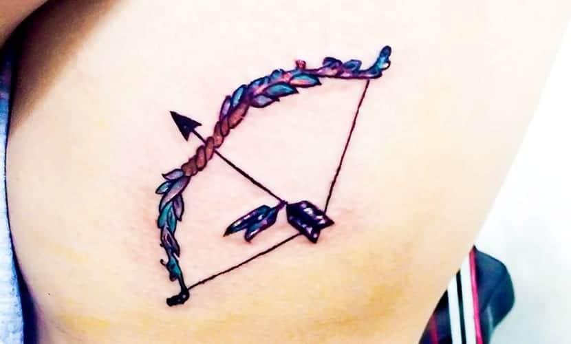 Tatuajes De Arcos Y Flechas Recopilación De Diseños E Ideas